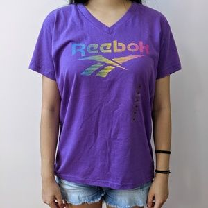 NWT Purple Reebok T-Shirt
